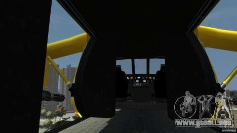 Yellow Annihilator para GTA 4 Vista posterior izquierda
