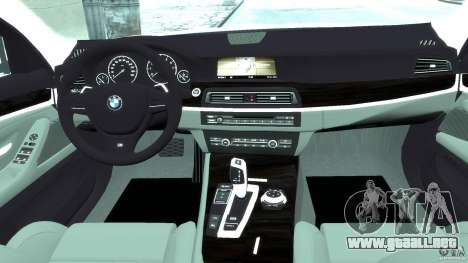 BMW M5 F11 Touring para GTA 4 visión correcta