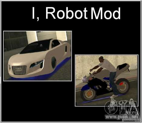 I, ROBOT MOD para GTA San Andreas
