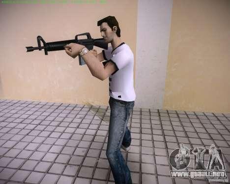 Nuevo M4 para GTA Vice City sucesivamente de pantalla