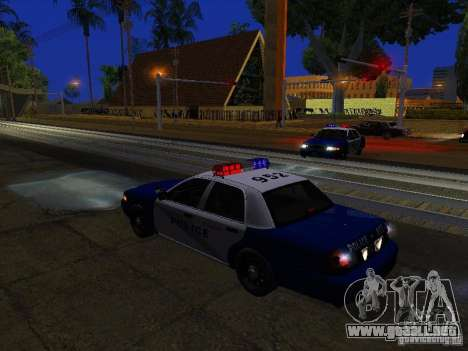 Ford Crown Victoria Belling State Washington para el motor de GTA San Andreas