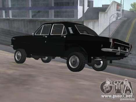 95 VOLGA GAZ-24 para GTA San Andreas left
