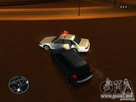Los súper policías para GTA San Andreas tercera pantalla