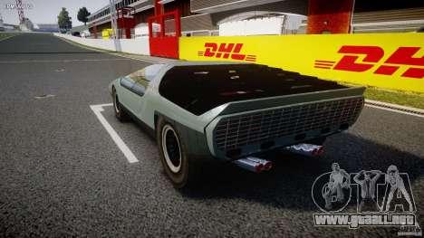 Alfa Romeo Carabo para GTA 4 Vista posterior izquierda