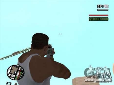 M4 de l. a. t. s. k. e. r. (a) para GTA San Andreas tercera pantalla