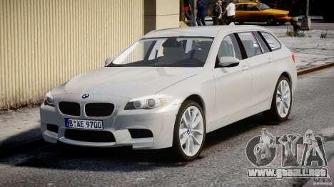 BMW M5 F11 Touring para GTA 4