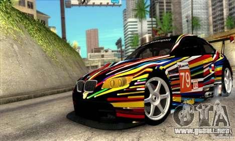 BMW M3 GT2 para GTA San Andreas