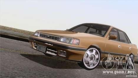 Subaru Legacy RS para la visión correcta GTA San Andreas