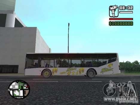 LAZ InterLAZ 12 para la visión correcta GTA San Andreas