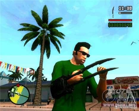 Las garras de un depredador para GTA San Andreas
