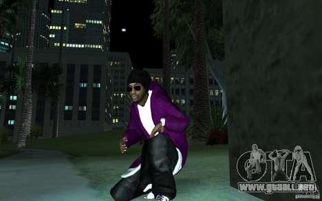 New Ballas para GTA San Andreas segunda pantalla