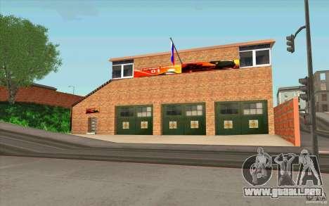 Estación de bomberos para GTA San Andreas