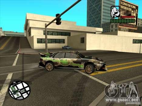 Nuevo vinilo para Cultana para GTA San Andreas vista posterior izquierda