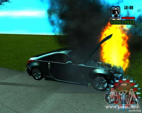 Nuevos efectos para GTA San Andreas sucesivamente de pantalla