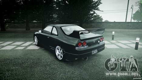 Nissan Skyline R33 para GTA 4 vista lateral