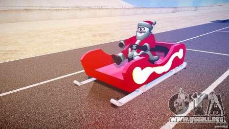 Santa Sled normal version para GTA 4