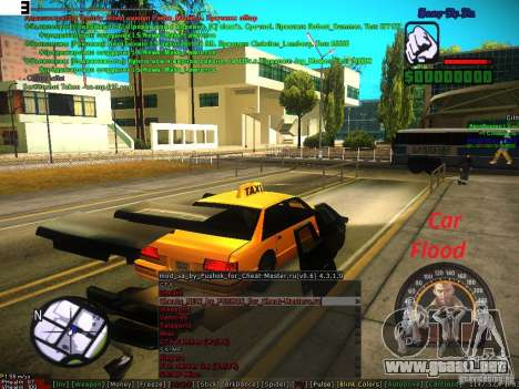Sobeit for CM v0.6 para GTA San Andreas quinta pantalla