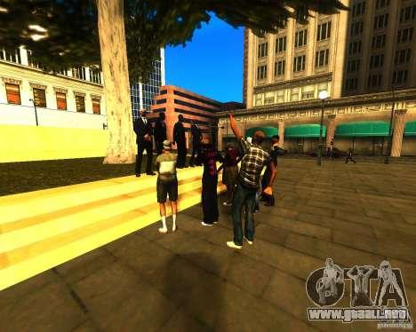 Apelación de la alcaldía a los habitantes del es para GTA San Andreas