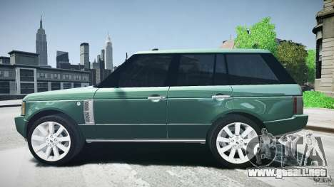 Range Rover Supercharged v1.0 para GTA 4 left