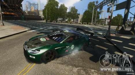 Aston Martin V12 Zagato 2012 para GTA 4 visión correcta