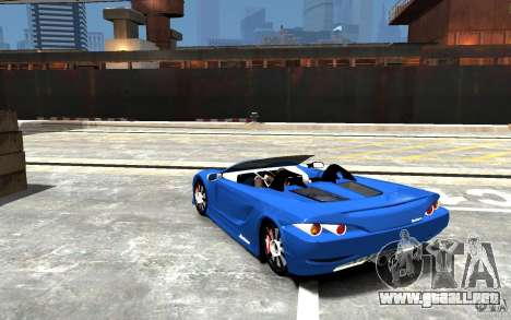 K1 Attack Concept para GTA 4 Vista posterior izquierda