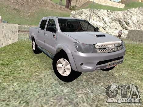 Toyota Hilux para GTA San Andreas
