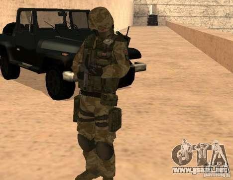 Ranger Army Skin Mod para GTA San Andreas tercera pantalla