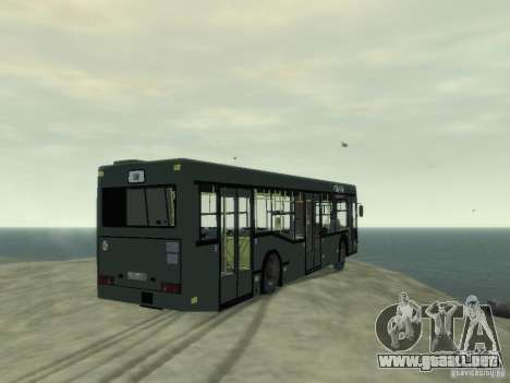MAZ 103 Bus para GTA 4 visión correcta