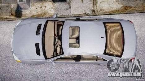 Mercedes-Benz S-Class 2007 para GTA motor 4
