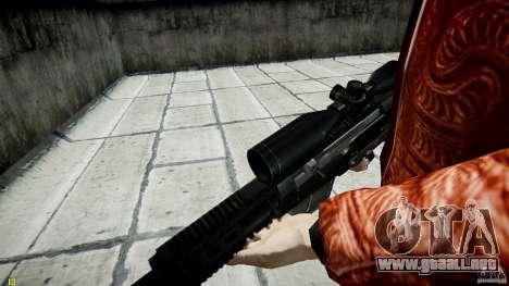 Accuracy International AS50 para GTA 4 octavo de pantalla