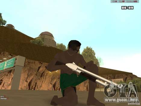 Weapon Pack V1.0 para GTA San Andreas segunda pantalla