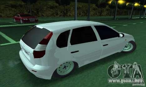 Lada Kalina Hatchback para GTA San Andreas left