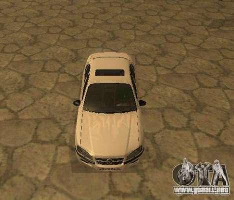 Opel Omega B 1997 para GTA San Andreas left