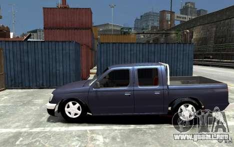 Nissan Pickup V 2005 para GTA 4 left