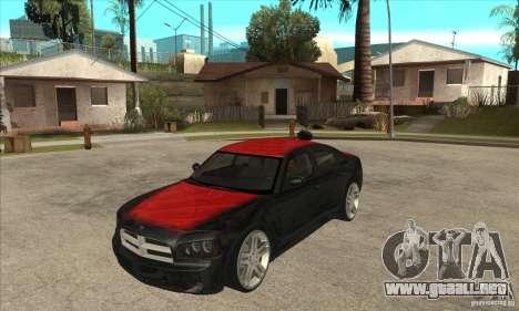 Dodge Charger R/T 2006 para vista lateral GTA San Andreas