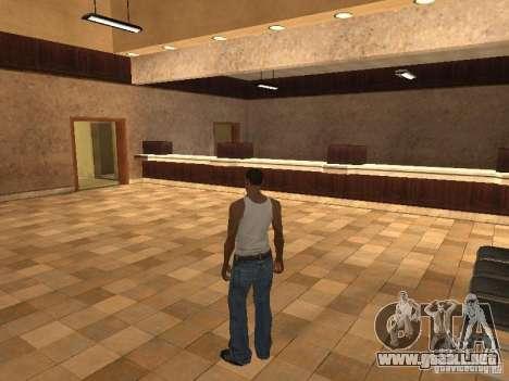 La entrada para el Hospital de Los Santos para GTA San Andreas segunda pantalla