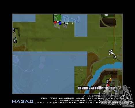 Autos en el estacionamiento del Anašana para GTA San Andreas quinta pantalla