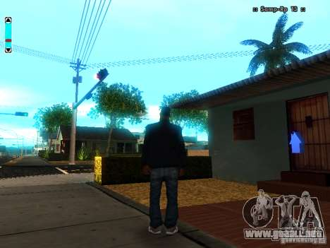 Una nueva interfaz para SAMP para GTA San Andreas