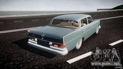 Mercedes-Benz W111 v1.0 para GTA 4 vista superior