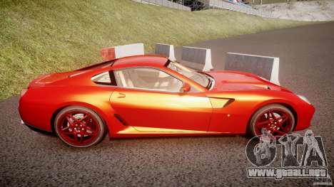 Ferrari 599 GTB Fiorano 2006 (Beta) para GTA 4 vista interior