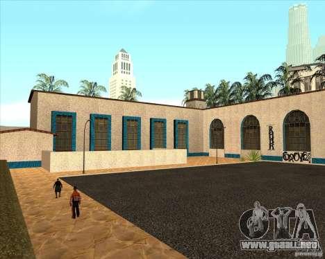 Nueva estación de unidad para GTA San Andreas tercera pantalla