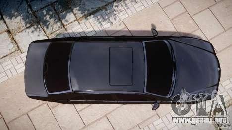 BMW M5 E39 Stock 2003 v3.0 para GTA 4 vista superior
