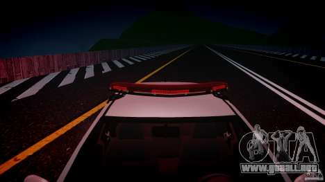 Volkswagen Gol G5 PMSP [ELS] para GTA 4 vista desde abajo