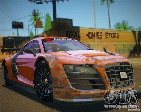 GTA IV Scratches Style para GTA San Andreas