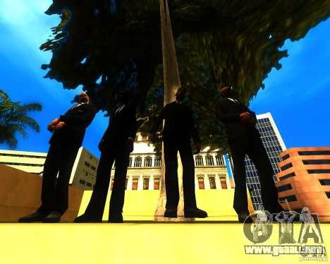 Apelación de la alcaldía a los habitantes del es para GTA San Andreas segunda pantalla