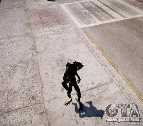 Werewolf from Skyrim para GTA 4 octavo de pantalla