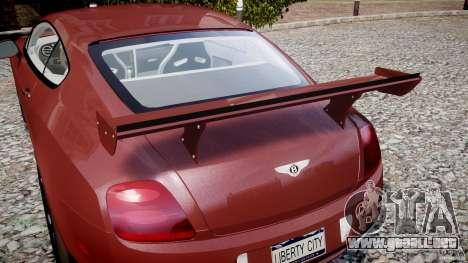 Bentley Continental SS v2.1 para GTA 4 interior