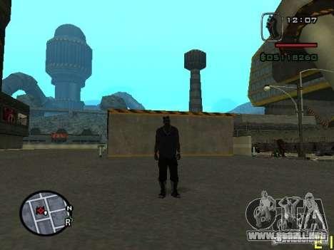 CJ del hombre invisible para GTA San Andreas segunda pantalla