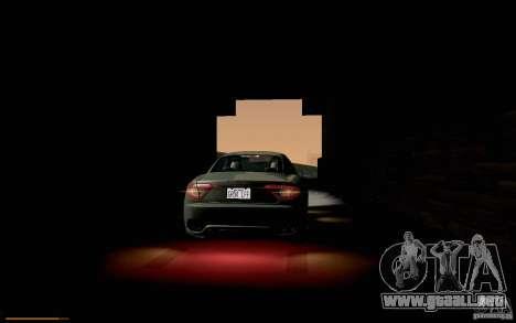 Maserati Gran Turismo 2008 para vista lateral GTA San Andreas