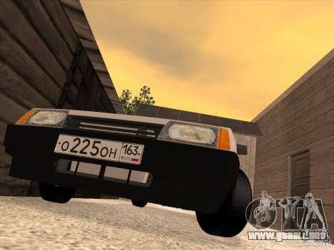 VAZ 2108 Taxi para la visión correcta GTA San Andreas